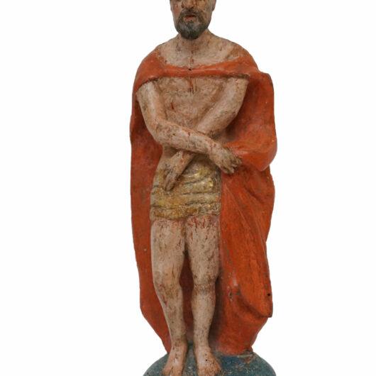 Antiek, Religieuze kunst, Spaanse sculptuur Ecce Homo, 18e eeuw