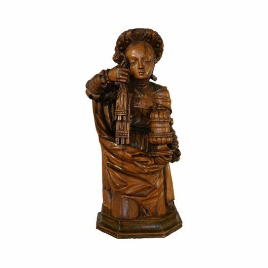 Antiek, Religieuze kunst, Sculptuur Mara Magdalena, 16e eeuw