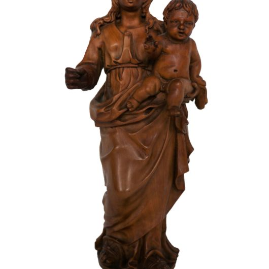 Antiek, Religieuze kunst, Maria met kind omstreeks 1650