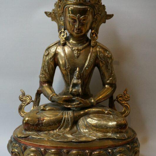 Bronze buddha Nepal